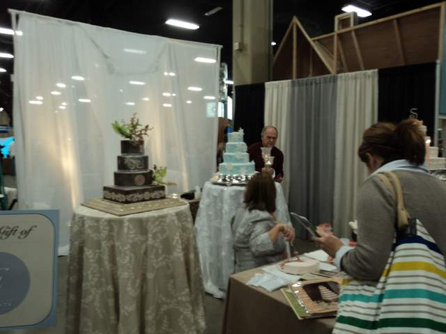 wedding invitation bridal show booth displays