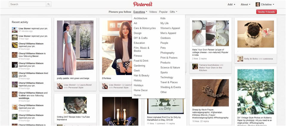 Pinterest: An Overview