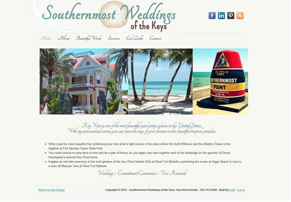 website for wedding planner