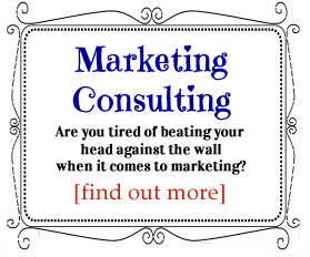 marketing consulting for wedding professionals