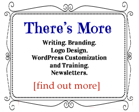 Writing, branding, logo design.newsletter design