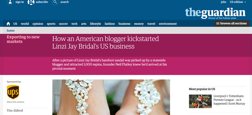 Think Like A Bride in The Guardian